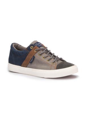 Dockers 220635 Gri Lacivert Erkek Sneaker Ayakkabı