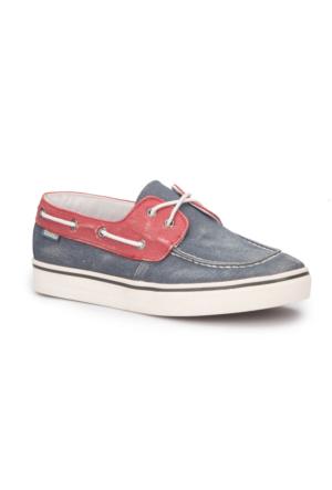 Dockers 222520 Lacivert Bordo Erkek Ayakkabı