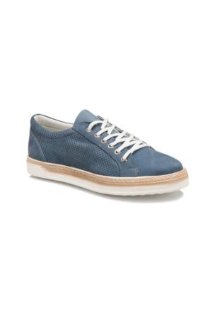 Forester 013 M 1413 Mavi Erkek Deri Sneaker Ayakkabı