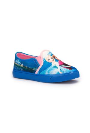 Frozen Trila Lacivert Kız Çocuk Ayakkabı