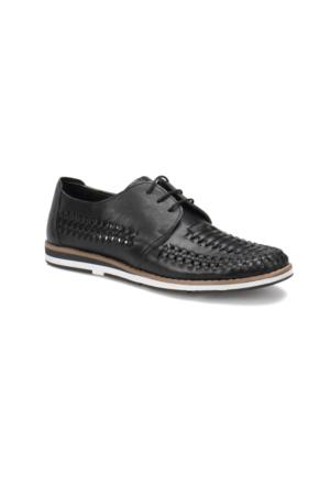 Garamond 3041 M 1366 Siyah Erkek Ayakkabı
