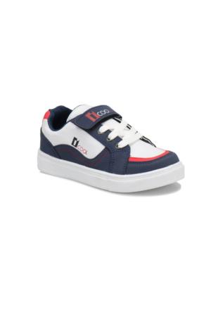 I Cool Yk534 Lacivert Beyaz Erkek Çocuk Spor Ayakkabı
