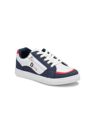 I Cool Yk546 Lacivert Beyaz Erkek Çocuk Sneaker Ayakkabı