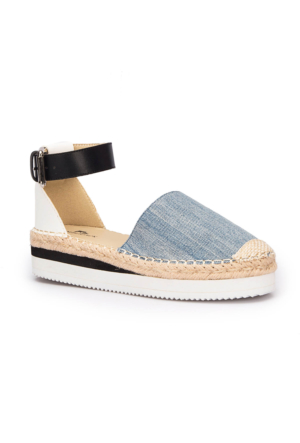 Lumberjack Serena Mavi Kadın Sandalet