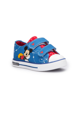 Mickey Mouse Goblın Mavi Erkek Çocuk Ayakkabı