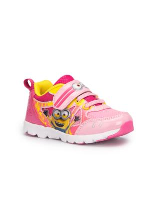 Minions Konan Pembe Kız Çocuk Ayakkabı