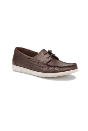 Overside 1412 M 6674 Kahverengi Erkek Ayakkabı