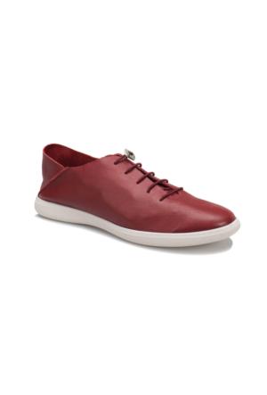 Oxide 168 M Bordo Erkek Deri Sneaker Ayakkabı