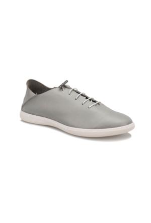 Oxide 168 M Gri Erkek Deri Sneaker Ayakkabı