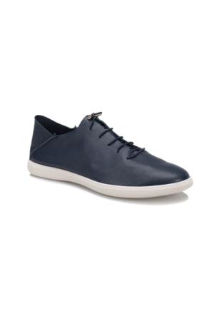 Oxide 168 M Lacivert Erkek Deri Sneaker Ayakkabı