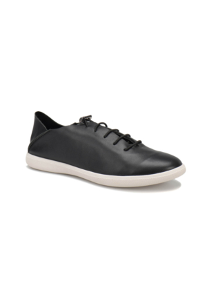 Oxide 168 M Siyah Erkek Deri Sneaker Ayakkabı