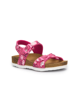 Pink Step Barfi-1 Pembe Kız Çocuk Sandalet
