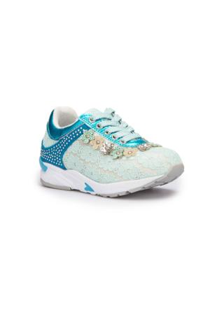 Pink Step Belinda Mavi Kız Çocuk Sneaker Ayakkabı