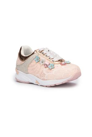 Pink Step Belinda Pembe Kız Çocuk Sneaker Ayakkabı
