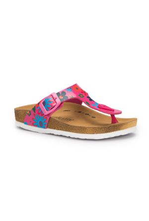 Pink Step Leydi-1 Fuşya Kız Çocuk Terlik