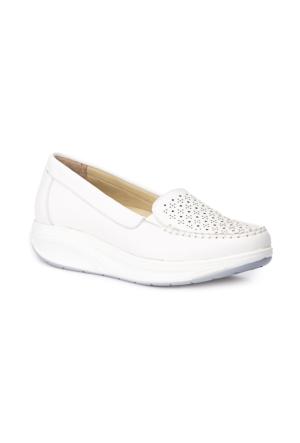 Polaris 5 Nokta 71.108147.Z Beyaz Kadın Ayakkabı