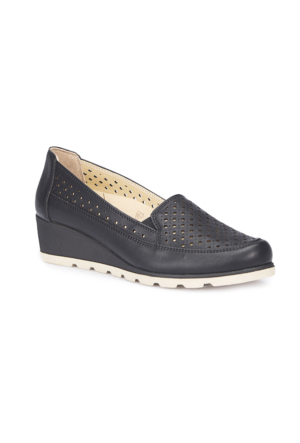 Polaris 5 Nokta 71.109607.Z Siyah Kadın Dolgu Topuk Ayakkabı