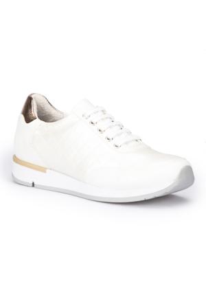 Polaris 71.109761.Z Beyaz Kadın Ayakkabı