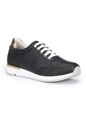 Polaris 71.109761.Z Siyah Kadın Ayakkabı