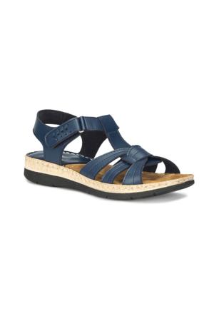 Polaris 71.157372.Z Lacivert Kadın Sandalet