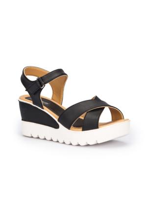 Polaris 71.308569.Z Siyah Kadın Sneaker Ayakkabı