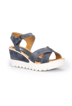 Polaris 71.309984.Z Mavi Kadın Sneaker Ayakkabı