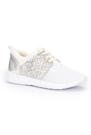 Polaris 71.310076.Z Beyaz Kadın Sneaker Ayakkabı