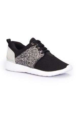 Polaris 71.310076.Z Siyah Kadın Sneaker Ayakkabı