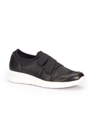 Polaris 71.310077.Z Siyah Kadın Sneaker Ayakkabı