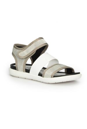 Polaris 71.310100.Z Gümüş Kadın Sandalet