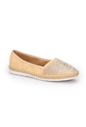 Polaris 71.310119.Z Bej Kadın Sneaker Ayakkabı
