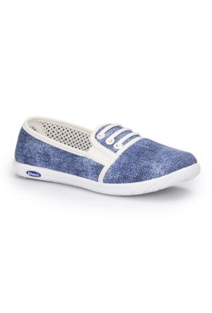 Polaris 71.354987.Z Mavi Kadın Sneaker Ayakkabı