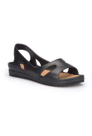 Polaris 71.451539.Z Siyah Kadın Sandalet