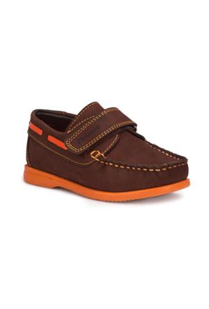 Polaris 71.505068.P Kahverengi Erkek Çocuk Ayakkabı