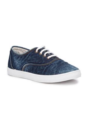 Polaris 71.509224.F Mavi Erkek Çocuk Sneaker Ayakkabı