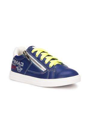 Polaris 71.509235.F Mavi Erkek Çocuk Sneaker Ayakkabı