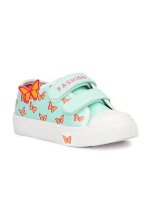 Polaris 71.509298.P Yeşil Kız Çocuk Sneaker Ayakkabı