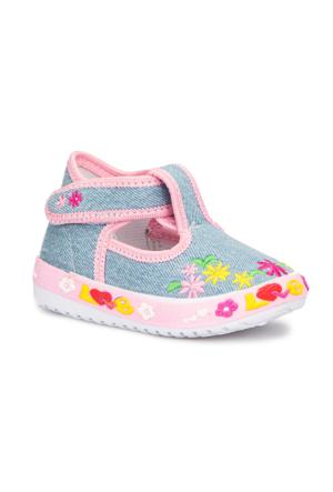 Polaris 71.509321.B Mavi Kız Çocuk Ayakkabı