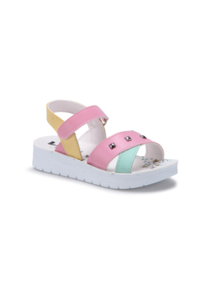 Seventeen Svs240 Beyaz Kız Çocuk Sandalet