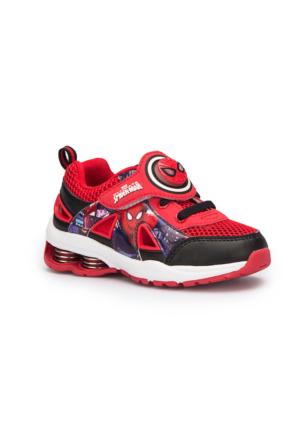 Spiderman Diamo Kırmızı Erkek Çocuk Spor Ayakkabı