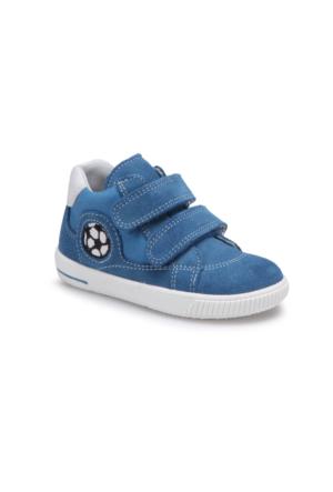 Superfit 00045-94 Pe Mavi Erkek Çocuk Deri Ayakkabı