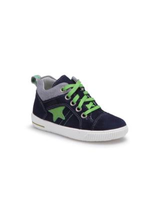 Superfit 00353-81 Pe Lacivert Erkek Çocuk Deri Ayakkabı