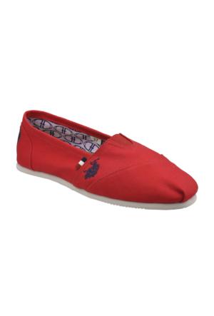 U.S. Polo Assn. A3352268 Kırmızı Kadın Ayakkabı