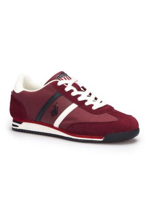 U.S. Polo Assn. Luton Bordo Erkek Sneaker Ayakkabı