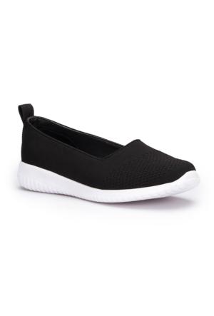 U.S. Polo Assn. Mas Siyah Kadın Ayakkabı