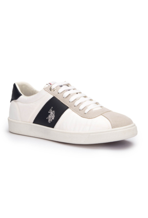 U.S. Polo Assn. Olımpıa Beyaz Erkek Sneaker Ayakkabı