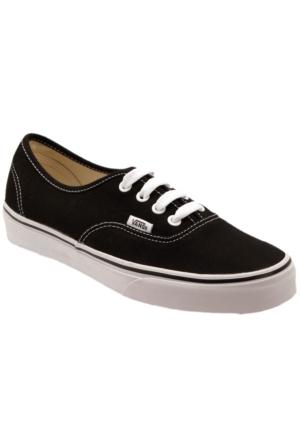 Vans Authentic Siyah Kadın Sneaker Ayakkabı