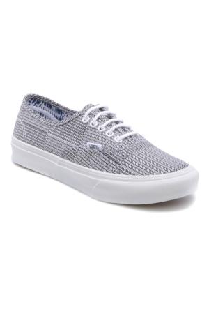 Vans Authentic Slim Siyah Kadın Sneaker Ayakkabı