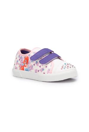 Winx Selen Beyaz Kız Çocuk Sneaker Ayakkabı