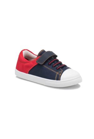 Yellow Kids YK535 Lacivert Kırmızı Erkek Çocuk Sneaker Ayakkabı